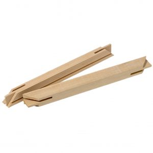 38mm Pine Gallery Canvas Bars