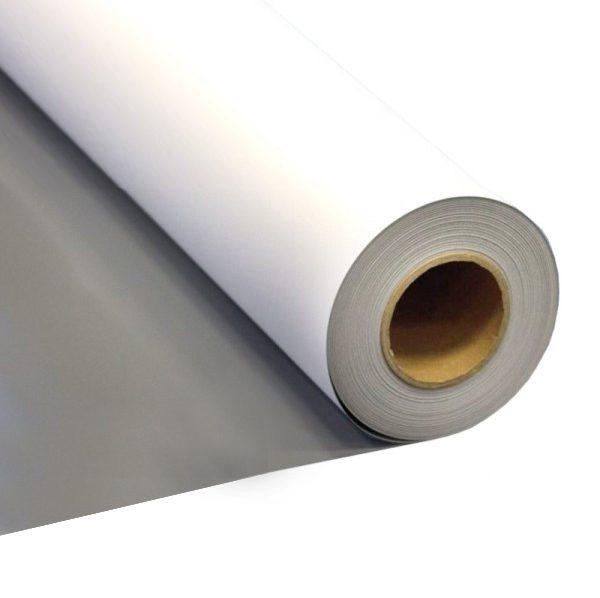 Grey Back PVC Roller Banner Material